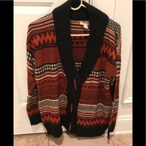 Forever 21 sweater Cardigan size small